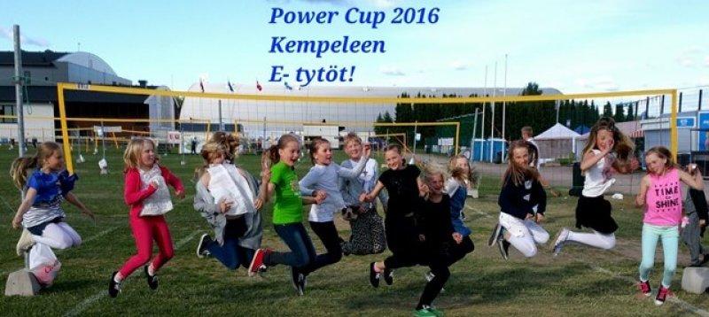 powerissa 2016 E-tytöt